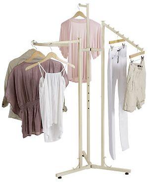 Store clothes racks