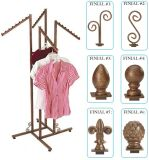 Buy Decorative Rolling Rack, Display Rack, Boutique Style Rack