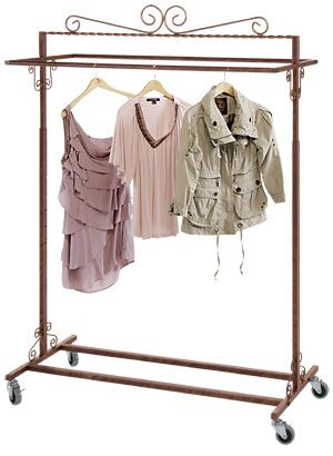 InterMetro Small Garment Rack | The Container Store