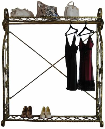 Boutique Display Garment Rack Decorative Clothing Rack