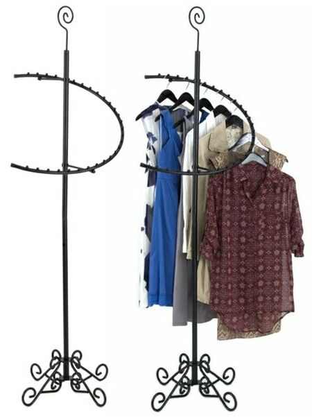 Style Garment Rack, Decorative Clothing Rack, Display Clothing Rack