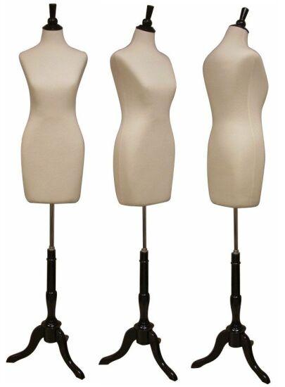 Female Dress Form, Ladies Dress Form, Display Dress Form