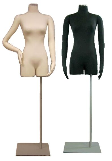 Female Dress Form, Ladies Dress Form, Female Dress Display