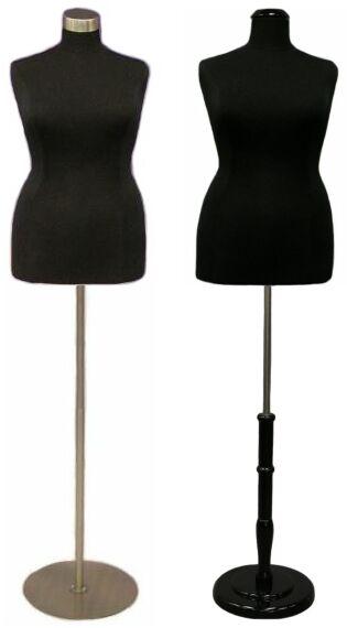 Boutique Dress Form, Plus Size Display Dress Body Torso ...
