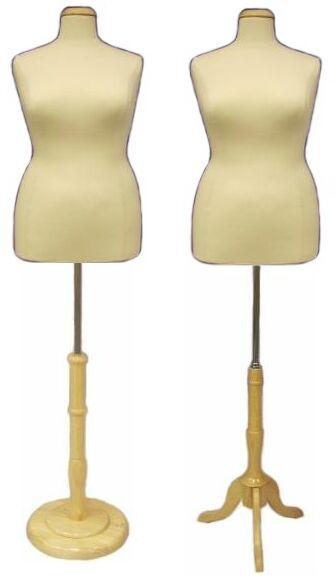 Boutique Dress Form, Plus Size Display Dress Body Torso, Ladies Form