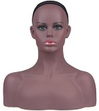 Female Mannequin  Display Head, Hat Display Form