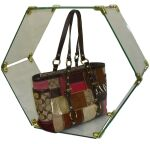 Handbag Glass Display, Glass Showcase, Glass Cube