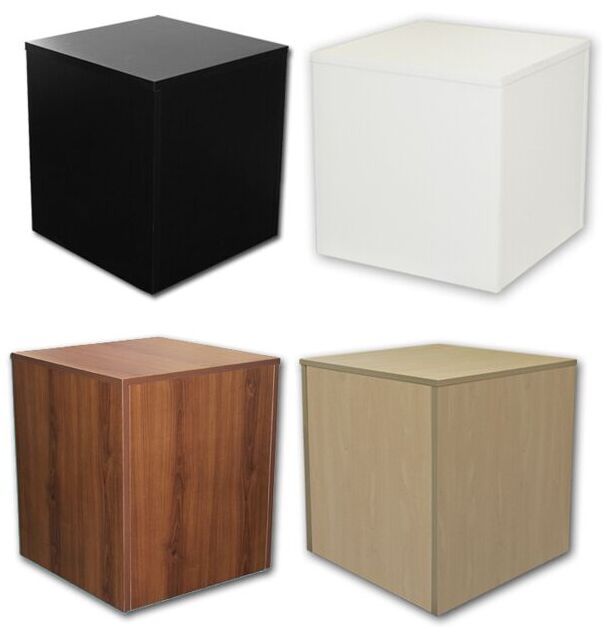 Wooden Display Base Display Cube Floor Display Stand