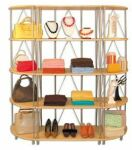 Wooden Shelving, Wood Display Shelves